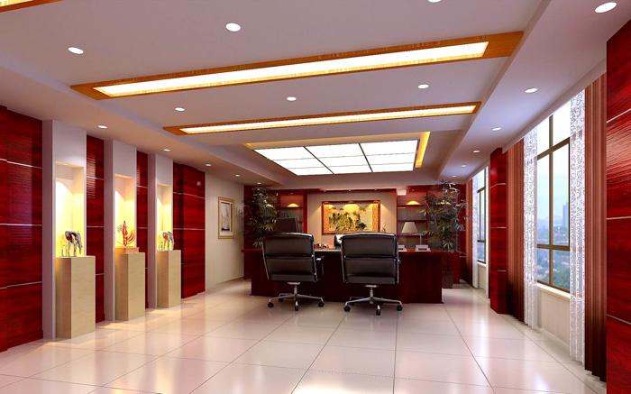 合肥华威电力-办公楼装修(图6)