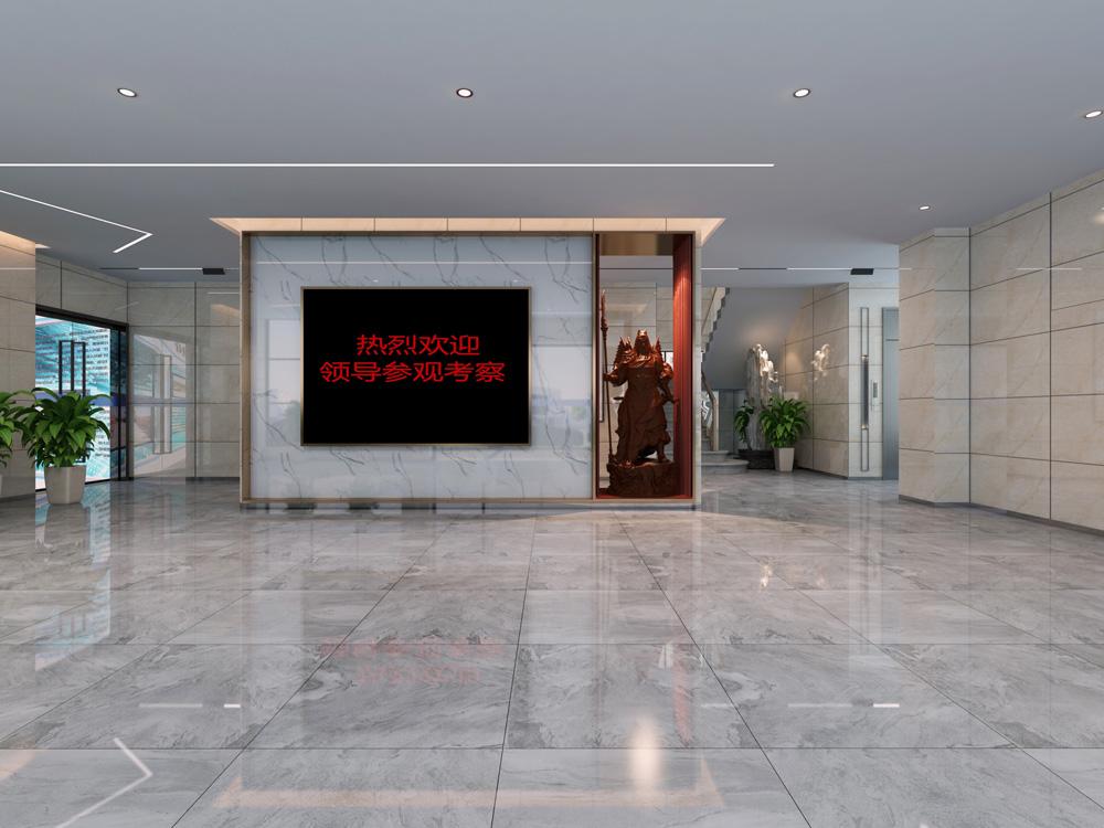 华新智能停车-办公楼装修(图2)